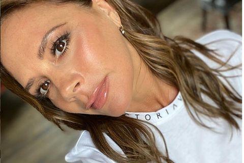 Victoria Beckham macht ein Selfie