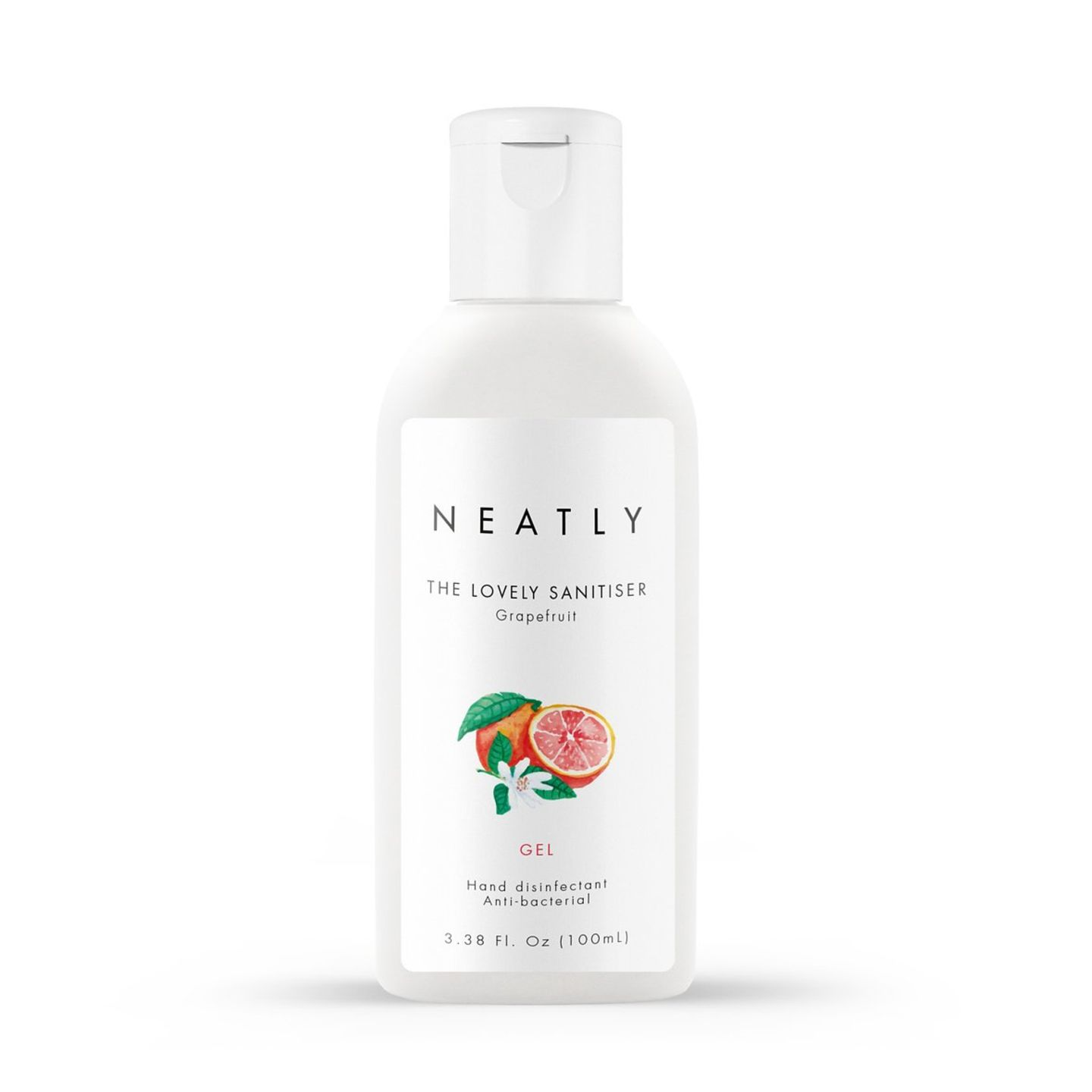 NEATLY Grapefruit hand sanitiser gel