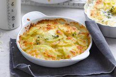 Kochen mit Kartoffeln: Kartoffelgratin mit Pecorino