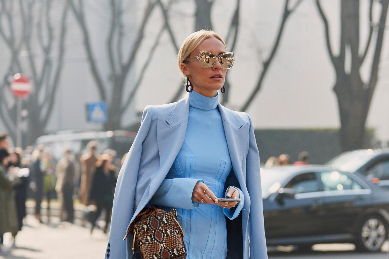 Viktoria Rader besucht die Mailänder Fashion Week