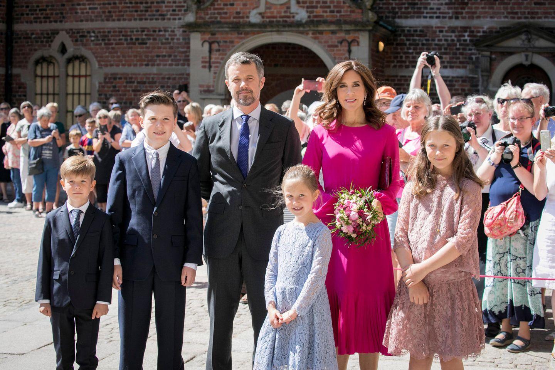 Royals: Sorge um Prinzessin Marys + Prinz Frederiks Kinder