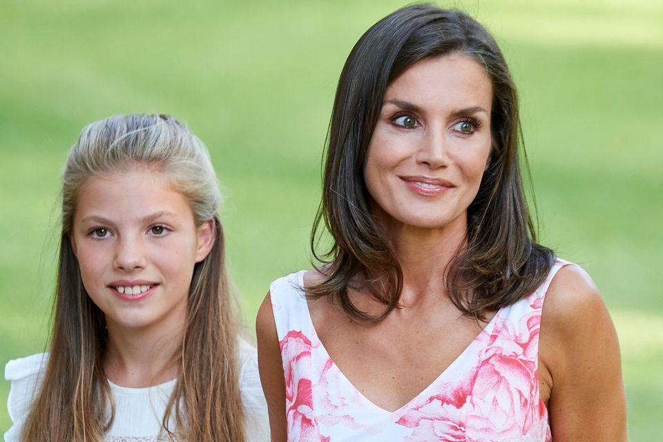 Königin Letizia mit Tochter Sofia