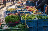 Nachhaltig leben: Wochenmarkt