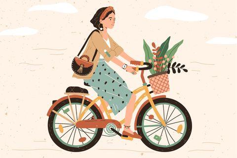 Nachhaltig leben: Fahrrad