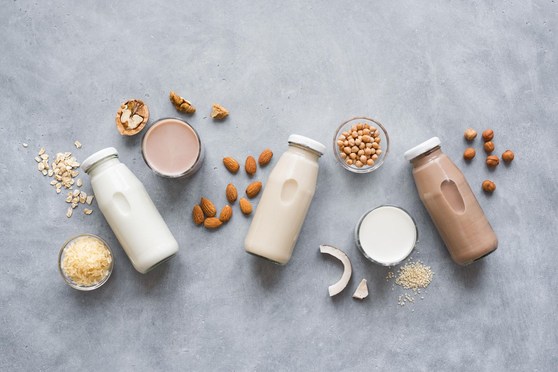 Nachhaltig leben: Pflanzenmilch