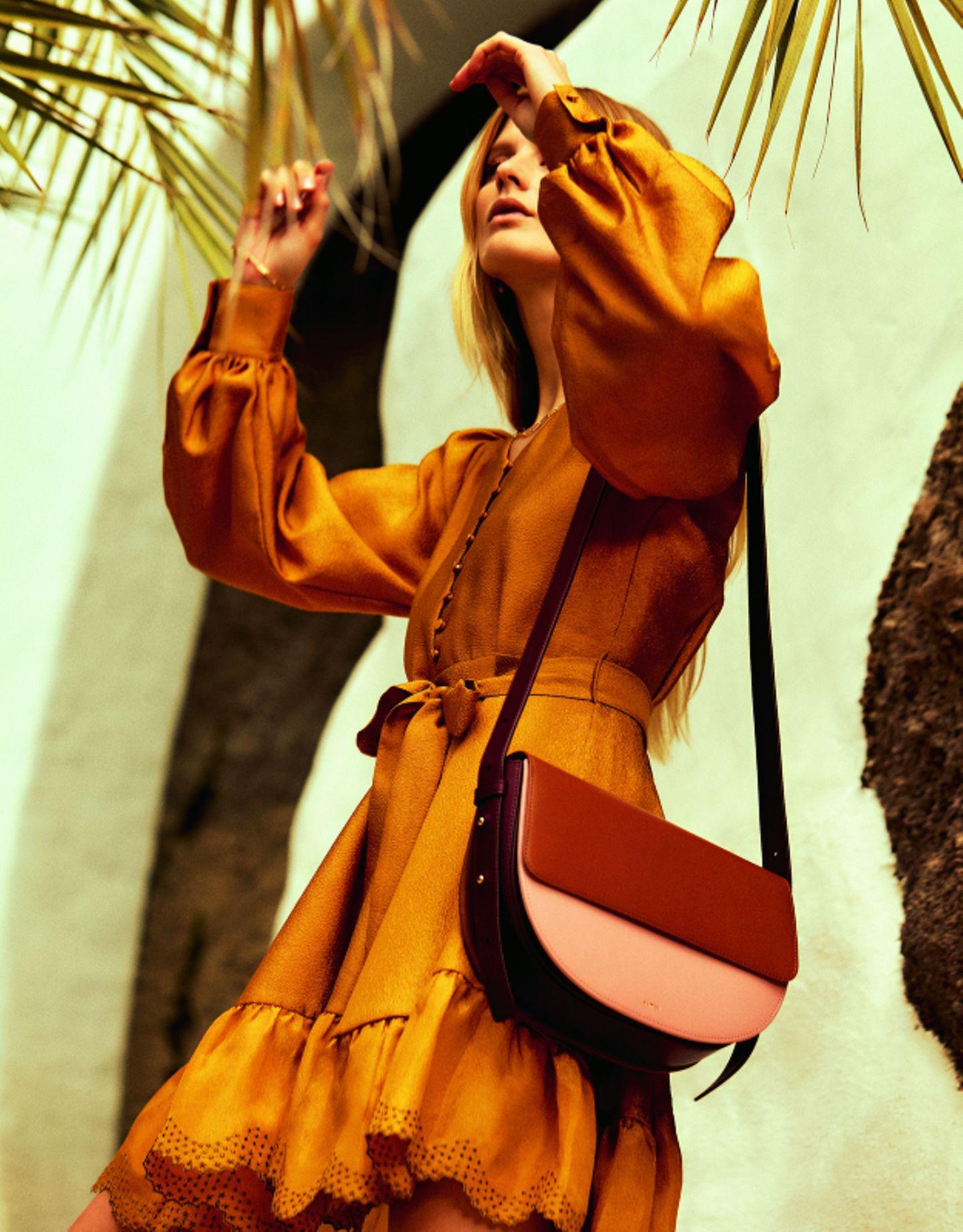 70er-Jahre-Mode: Minikleid