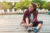Kinderwunsch ab 35: Frau beim Sport