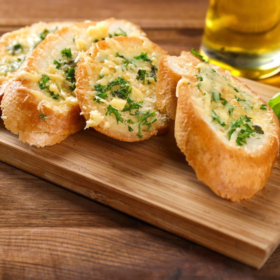 Kräuterbaguette