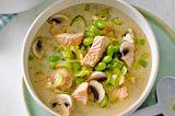 Kokos-Fisch-Suppe