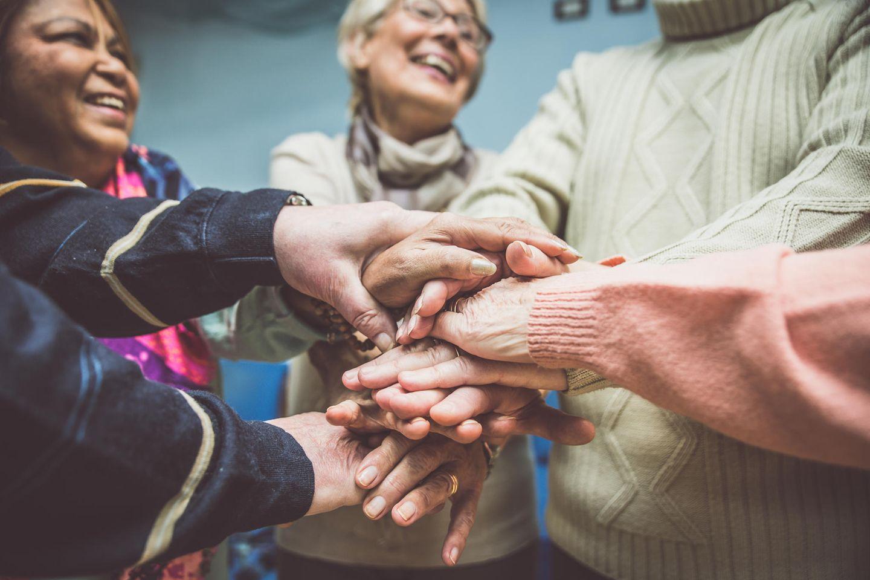 Sydmar Lodge Care Home: Senioren freuen sich