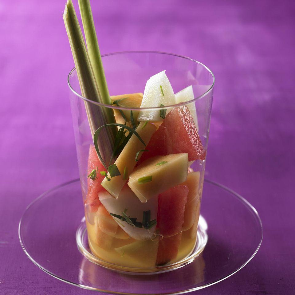 Melonen-Salat