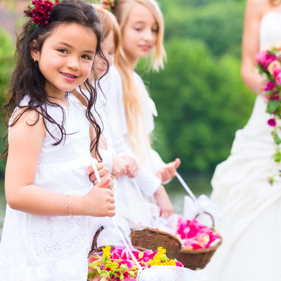 Hochzeit mit Kindern: Blumenkinder auf einer Hochzeit
