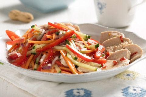 Spicy-Thai-Geflügel-Salat