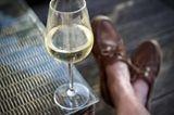 Väter Gebote: Weinglas