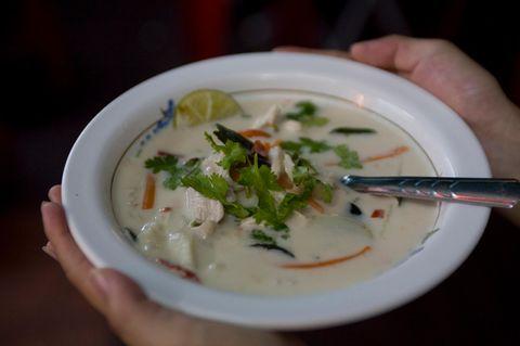 Kokossuppe (Tom Kha)