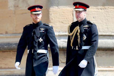 Haben Prinz William und Prinz Harry gegen Regeln verstoßen?