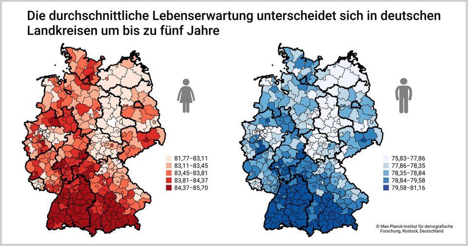 Durschnitt deutschland penis Durchschnittsgröße im