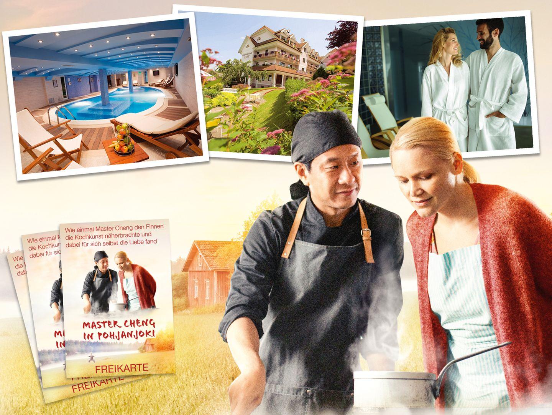 Gewinnspiel: Ein romantischer Wohlfühlfilm über Liebe, Freundschaft und Essen!