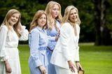 Royale Kinderfotos: Prinzessin Amalia, Prinzessin Ariane und Prinzessin Alexia