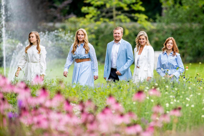 Royale Kinderfotos: Prinzessin Amalie, Prinzessin Ariane und Prinzessin Alexia