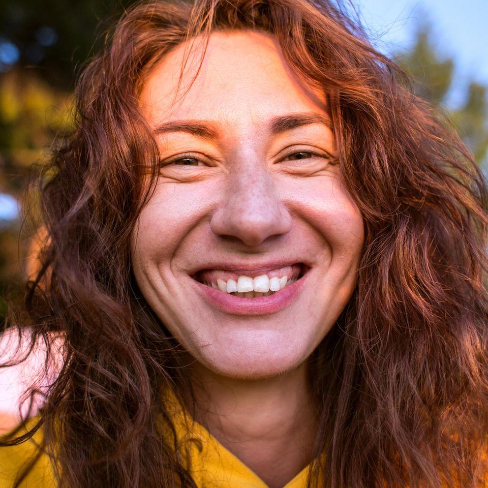 #NoMakeupChallenge: Frau ungeschminkt