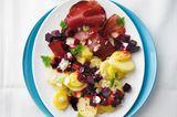 Rote-Bete-Kartoffel-Salat mit Bündner Fleisch