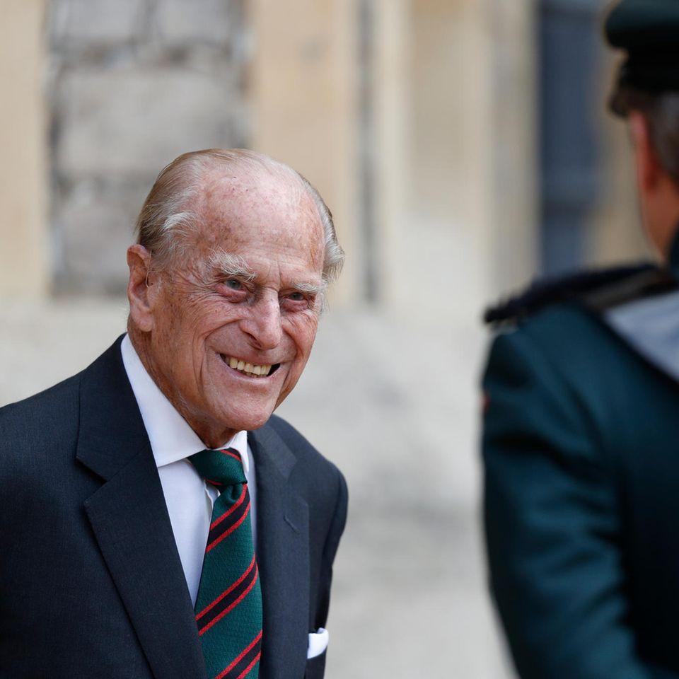 Prinz Philip: Guter gelaunter Auftritt trotz Ruhestand
