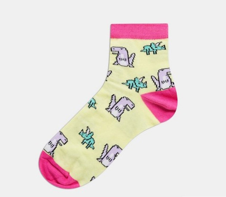 ASOS DESIGN Socken mit Dinosauriern