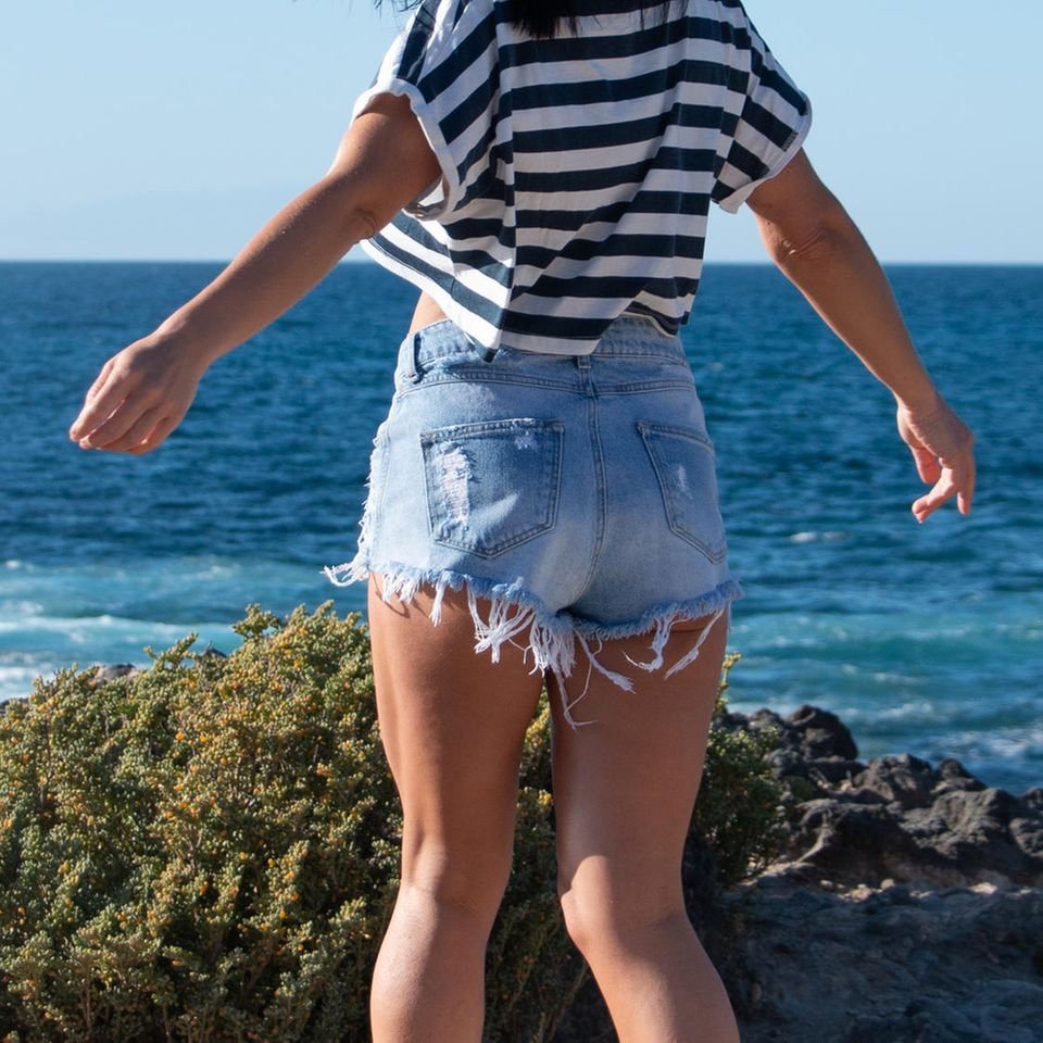 #Weartheshorts: Frau in Shorts