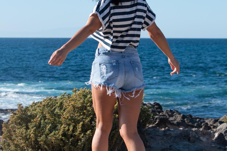 #Weartheshorts: Frau in Shorts