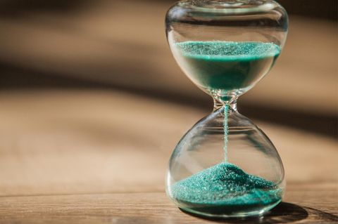 Zeitgefühl: Sanduhr