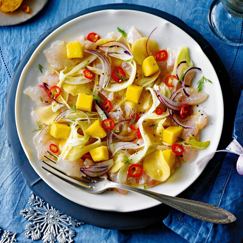 Mango-Rezepte: Ceviche von der Dorade