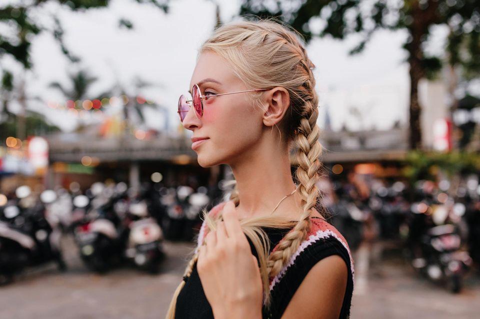 Haartrend: Runde Sache: So easy gelingt die Trendfrisur Bubble Braids