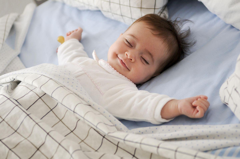 Muttersein: Baby schläft