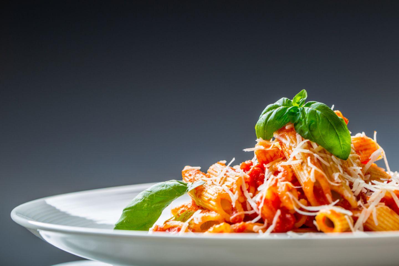 Mahlzeitenverzicht: Spaghetti