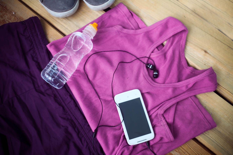 Fitness-Fehler: Kleidung