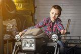 Das bringen nur Jungs: Jungs-Mamas aufgepasst: Kleiner Junge als Rennfahrer