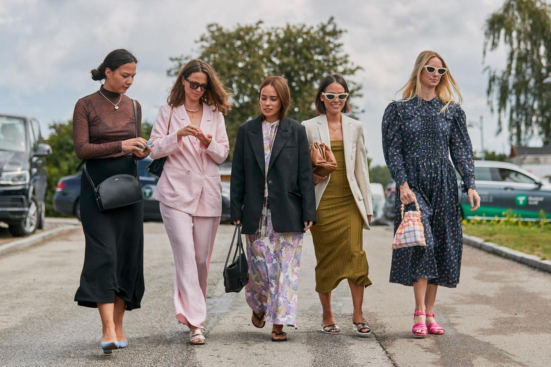 Bloggerinnen auf der Fashion Week in Kopenhagen