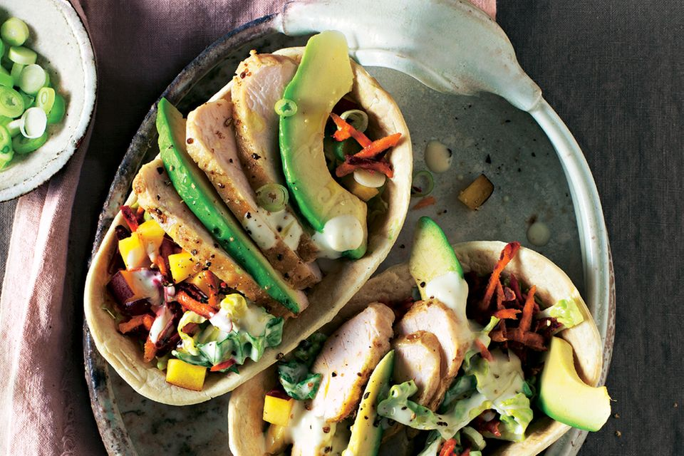 Avocado-Rezepte: Tortilla-Schalen mit Avocdo