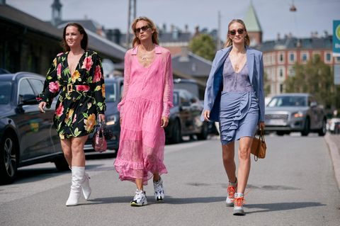 Besucher der Fashion Week in Kopenhagen