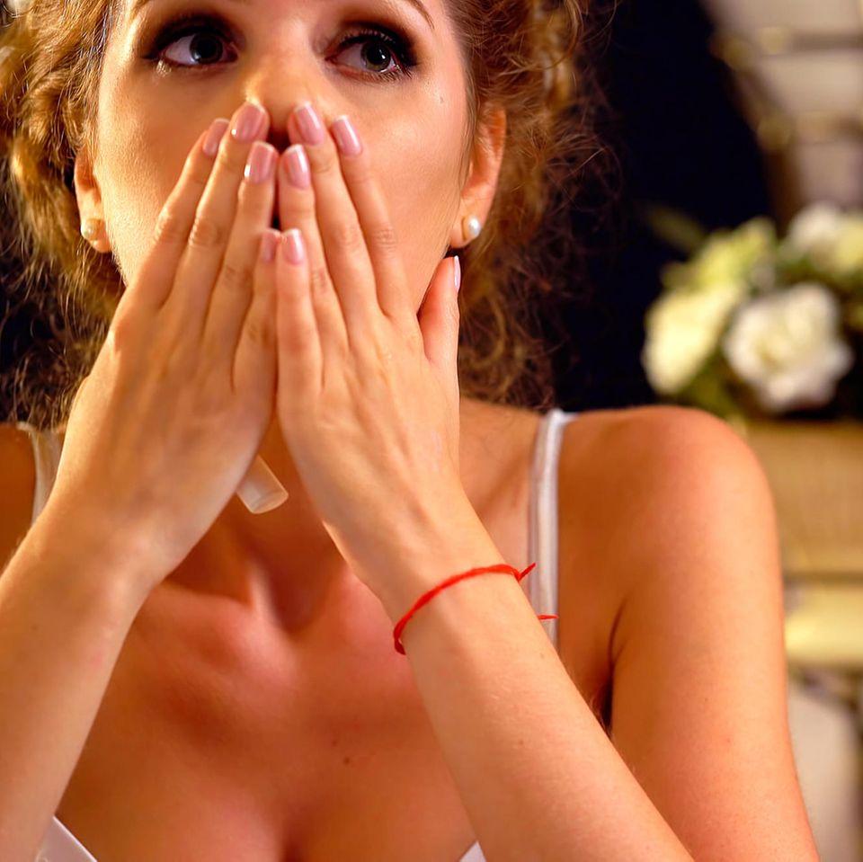 Ex-Freundin crasht Hochzeit