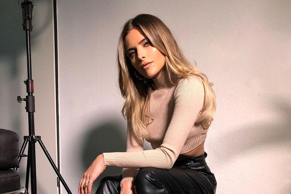 Sophia Thomalla zeigt neue Haarfarbe
