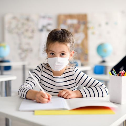Coronavirus: So breitet es sich einem Klassenzimmer aus