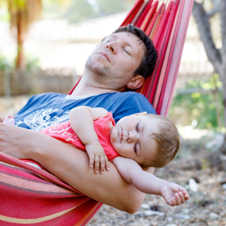 Baby-Schlaf: Die Väter und die unruhigen Nächte   BRIGITTE.de