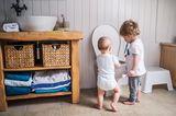 Alltag mit Kind: Kleinkinder im Badezimmer