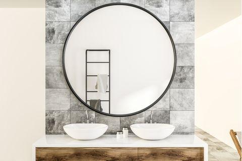 Stauraum im Bad: Kleines Badezimmer