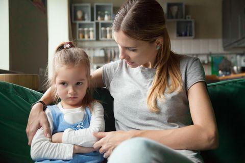 Arschlocherltern: Kind ist beleidigt