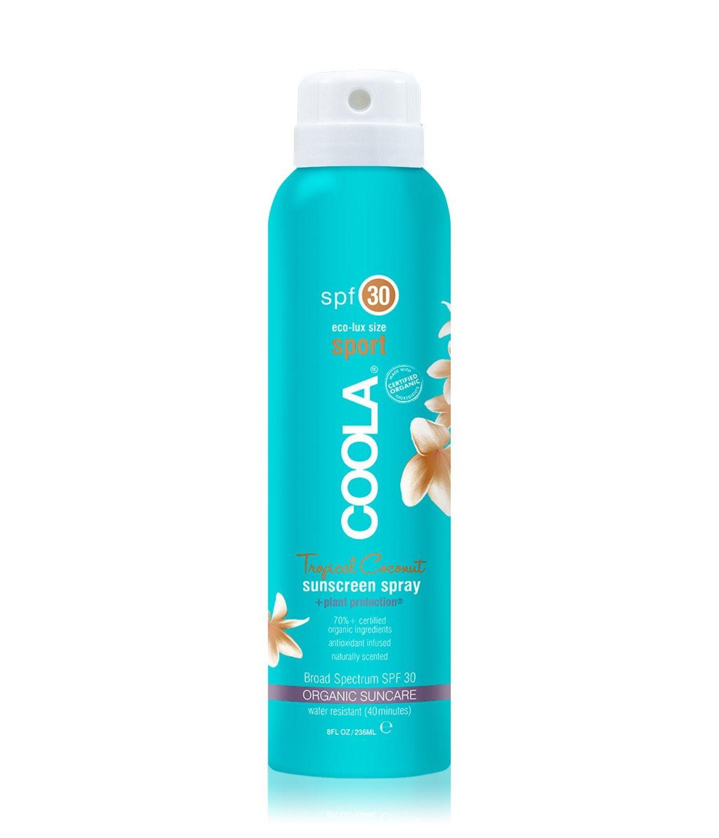 Coola Eco-Lux Body Spray Tropical Coconut LSF 30 Sonnenspray