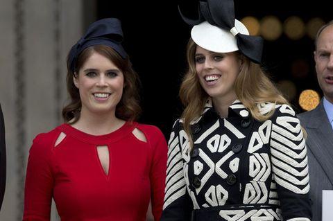 Stars ungeschminkt: Prinzessin Eugenie und Prinzessin Beatrice