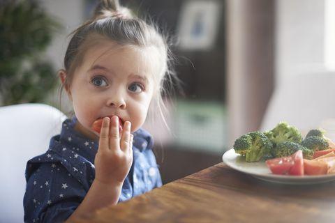 Ernährung: Kind isst